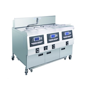 OFE-323L LCD Panel Electric Three Tanks Open Fryer (Three Tanks Six Baskets)