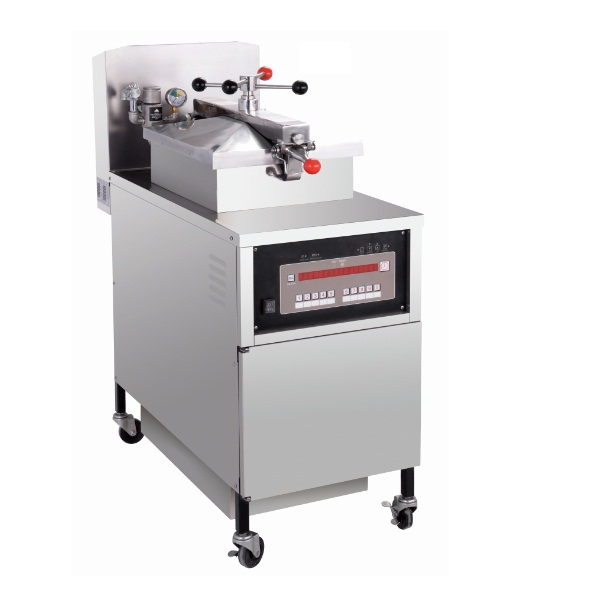 PFE-800 Computer Panel Electric Chicken Chips Pressure Fryer Machine with Oil Pump