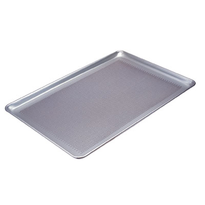 Commercial Perforated Aluminum Alloy Sheet Pan ( Anode Hole Diameter 3mm) Bakery Bread Snack Baking Sheet