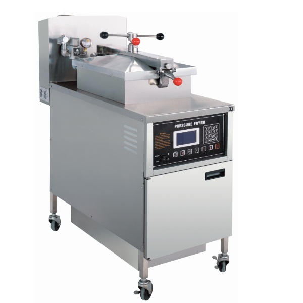 PFG-600L LCD Gas Pressure Fried Chicken Machine Pressure Fryer