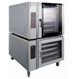 Electric 5 Pans Convection Oven with 10 Trays Proofer