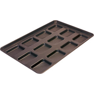 Commercial Non-stick Square Hamburger Roll Tray Toast Bread Baking Sheet Bakery Snack Baking Sheet Bread Baking Pan