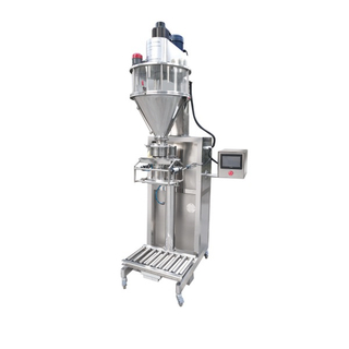 semi automatic dust proof big bag fertilizer flour additive powder filling packing machine