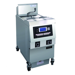 OFE-321L LCD Panel Electric Sing Tank Open Fryer (One Tank Two Baskets)