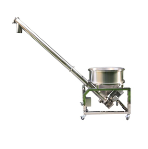 round bucket screw auger conveyor feeder