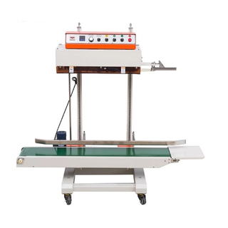 QLF-1680 Industrial Sealing Machine with Loading Conveyor 15kg Big Bag Sealing Machine