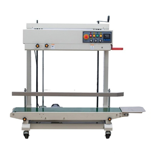 FRD-1200V Vertical solid ink coding band sealer for PE bag sealing machine with code printer